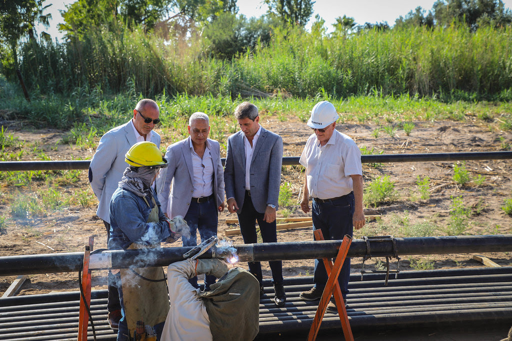2020-02-17 PRENSA: Gobierno invirtió más de 60 millones de pesos en un gasoducto y en obras viales en 25 de Mayo